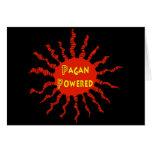 Pagan Powered Sun Card