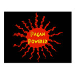 Pagan Powered Sun Post Cards