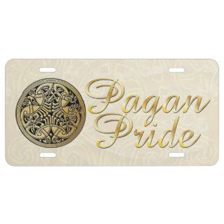 Pagan Pride Tri-Quatra Birds 2 - License Plate