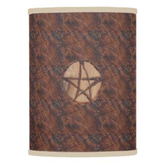 Pagan primitivo de Wiccan de la bruja de los Pantalla De Lámpara