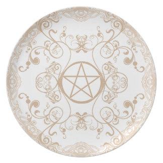 Pagan Renaissance: New Spring Melamine Plate