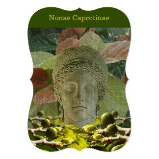 Pagan Roman Invitation to a Nonae Caprotinae Event