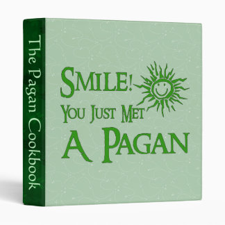 Pagan Smile 3 Ring Binder
