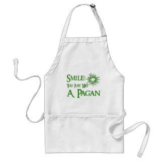 Pagan Smile Adult Apron
