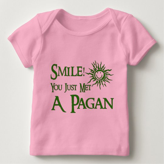 Pagan Smile Baby T-Shirt