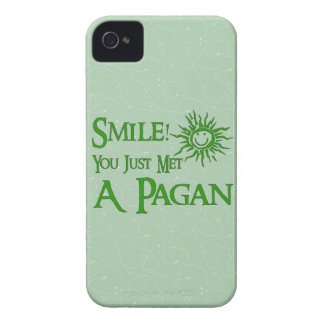 Pagan Smile iPhone 4 Case-Mate Cases