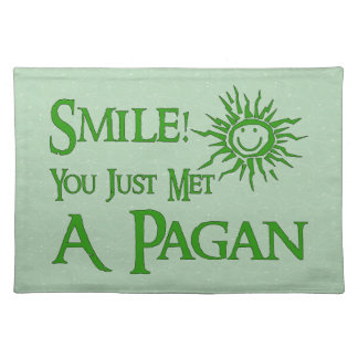 Pagan Smile Cloth Placemat