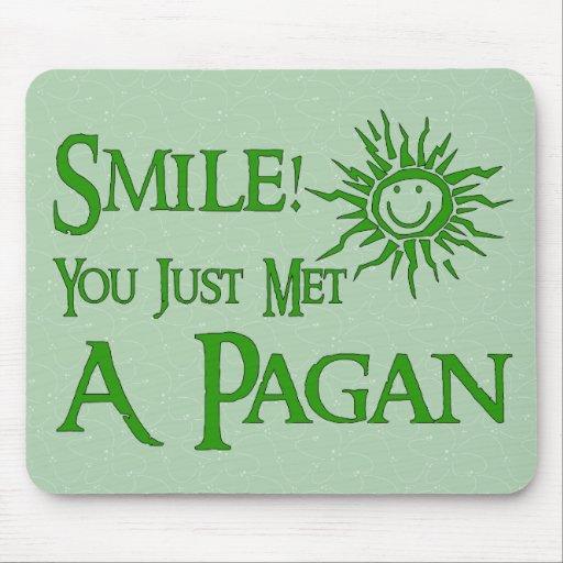 Pagan Smile Mouse Pad