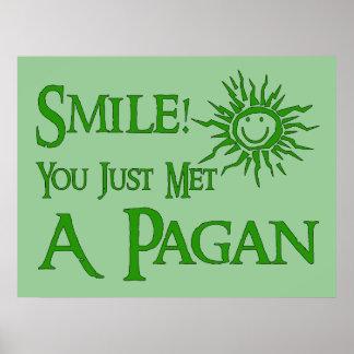 Pagan Smile Print