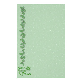 Pagan Smile Stationery Paper