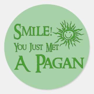 Pagan Smile Stickers