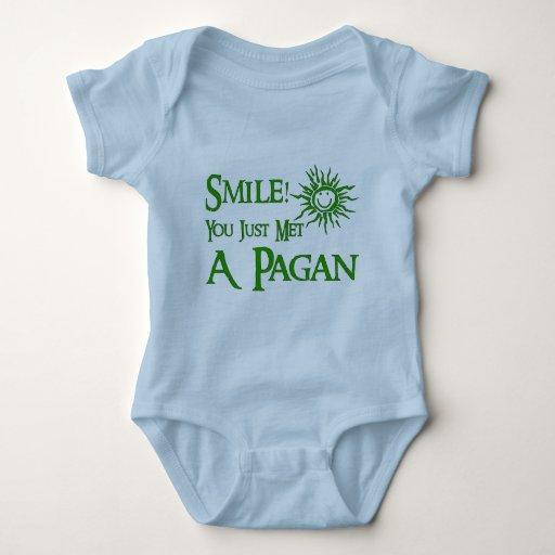 Pagan Smile Tee Shirts