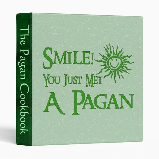 Pagan Smile Vinyl Binder