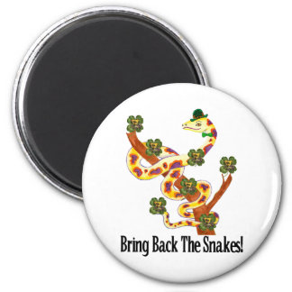 Pagan Snakes 2 Inch Round Magnet
