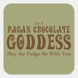 Pagan Square Sticker