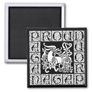 Pagan Stag Magnet