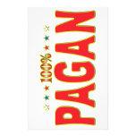 Pagan Star Tag Custom Stationery