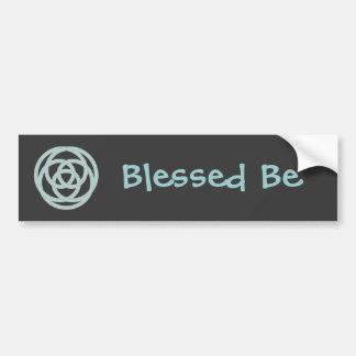 Pagan Symbols Bumper Sticker
