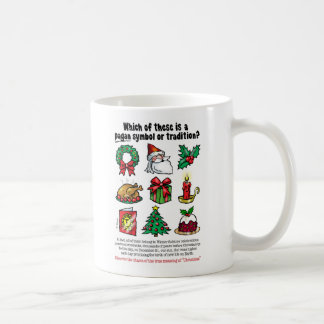 PAGAN SYMBOLS of CHRISTMAS Coffee Mug