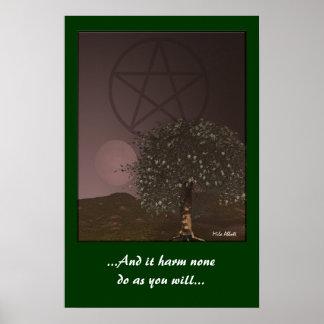 Pagan Symbols Posters