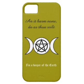 Pagan Triple Goddess Symbol iPhone 5 Cover