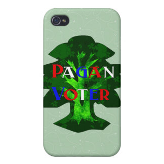 PAGAN VOTER iPhone 4 COVERS
