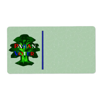 PAGAN VOTER SHIPPING LABEL