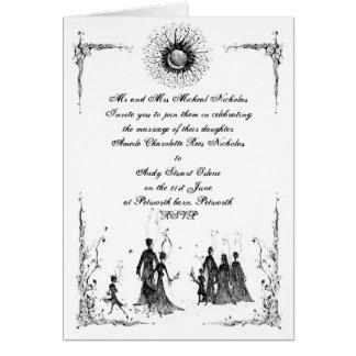 Pagan Wedding invite Card