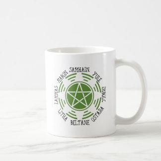 Pagan Wheel of the Year Coffee Mug