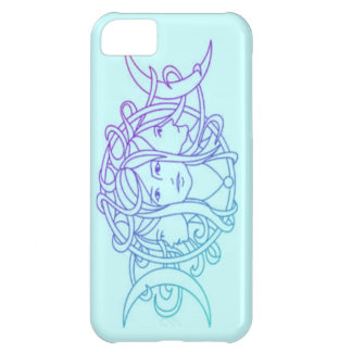 Pagan Wiccan Triple Moon Goddess iPhone 5C Cover