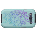 Pagan Wiccan Triple Moon Goddess Galaxy S3 Cover