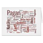 Pagan Words Card