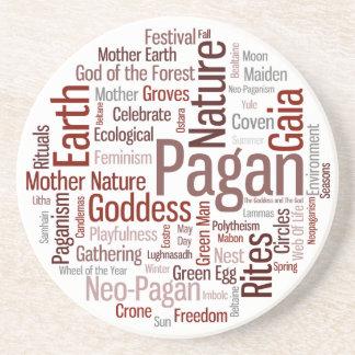 Pagan Words Coaster