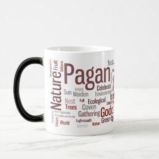 Pagan Words Magic Mug
