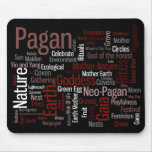 Pagan Words Mouse Pad