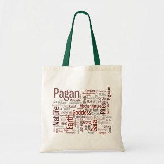 Pagan Words Tote Bag