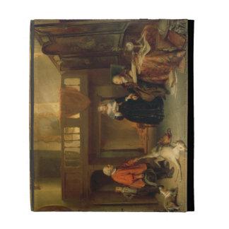 Pagando el diezmo (aceite en el panel)