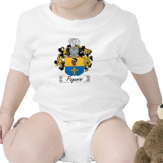 Paganini Family Crest Tshirts
