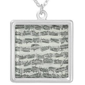 Paganini Moto Perpetuo Personalized Necklace
