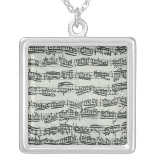 Paganini Moto Perpetuo Personalized Necklace