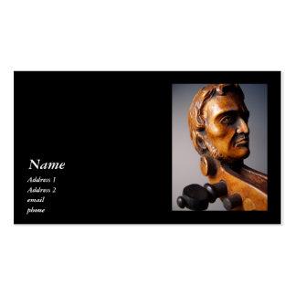 Paganini Scroll Violin Viola Business Card