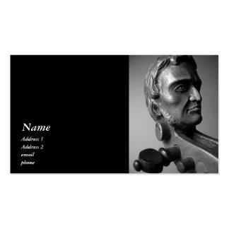 Paganini Violin Viola Scroll Business Card