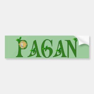 Paganismo Pegatina De Parachoque