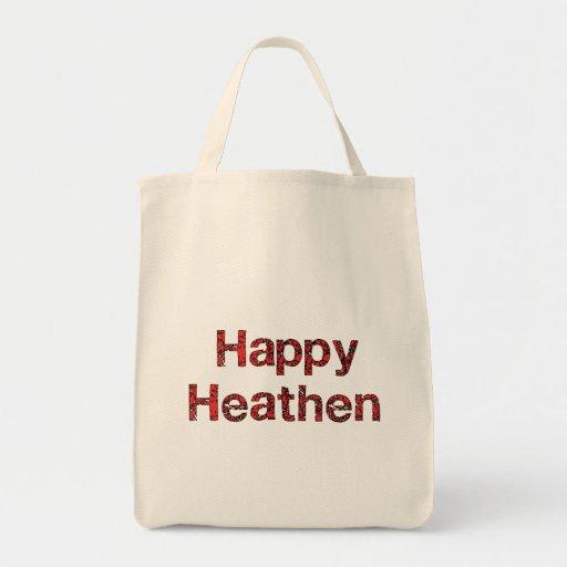 Pagano feliz bolsa tela para la compra