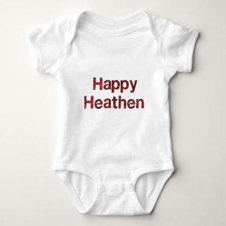Pagano feliz mameluco de bebé