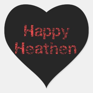 Pagano feliz colcomanias de corazon