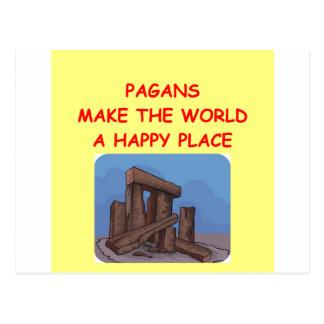 pagans postcard