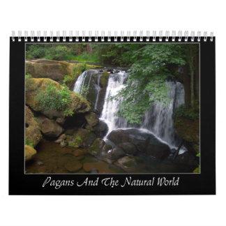 Pagans y el mundo natural calendarios de pared