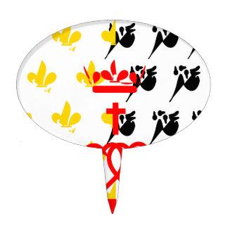 Pagar-de-la-Loira-Bandera Decoraciones De Tartas