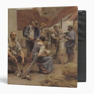 Pagar las máquinas segadores, 1882
